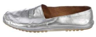 Maison Margiela Metallic Slip-On Sneakers