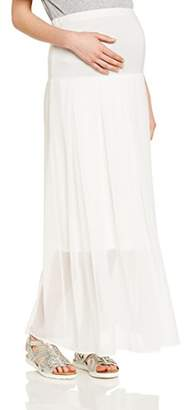 Pietro Brunelli Women's A-line Plain unicolor Skirt - White - 8