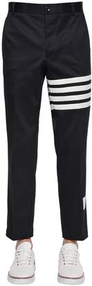 Thom Browne Unconstructed Cotton Twill Chino Pants