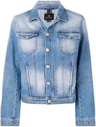 Paul Smith faded effect denim jacket