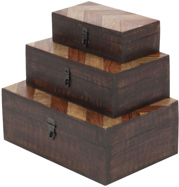 UMA Parque Chevron Boxes (Set of 3)