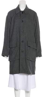 Organic by John Patrick Knee-Length Wool Coat