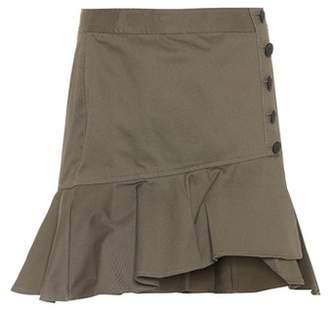 Veronica Beard Claremont asymmetric cotton skirt