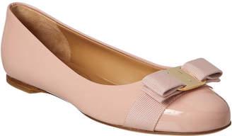 Salvatore Ferragamo Varina Patent Ballet Flat