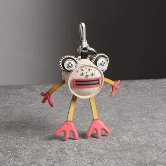 Burberry Doris The Frog Leather Charm