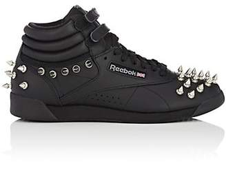 Comme des Garcons Junya Watanabe Women's Studded Leather Sneakers - Black