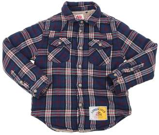 American Outfitters PLAID COTTON FLANNEL SHIRT JACKET