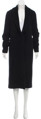 Alexander Wang T by Alexander Wang Wool-Blend Long Coat