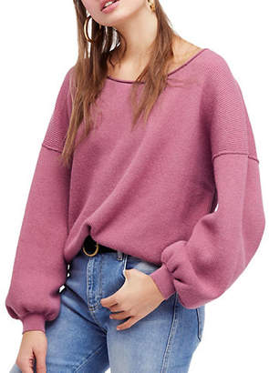 Free People Shadow Oversized Sweater