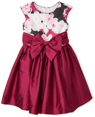Pippa & Julie (Girls 7-16) Floral Bow Sash Dress