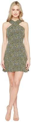 MICHAEL Michael Kors Quinn Cross Neck Dress Women's Dress