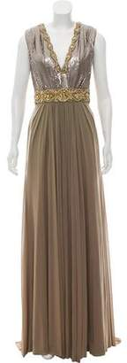 Terani Couture Embellished Evening Gown