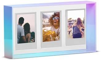"Argento SC Iridescent Three Photo Frame, 2"" x 3"""