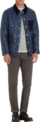 nanamica Quilted Riding Jacket
