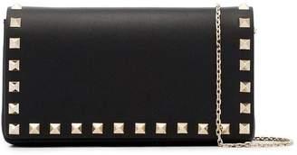 Valentino Black Rockstud Mini Leather Cross Body Bag