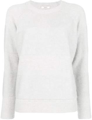 Peserico raised stripe sweater