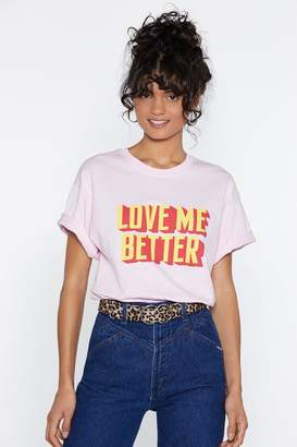 Nasty Gal MTV Staying Alive Love Me Better Tee