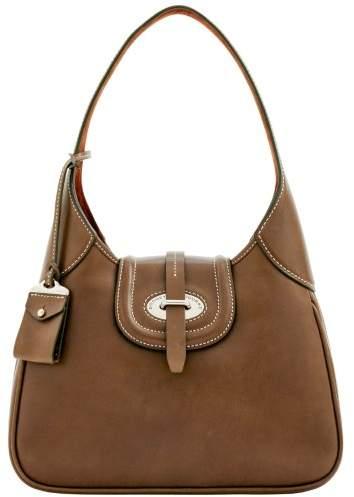 Dooney & Bourke Florentine Toscana Hobo Shoulder Bag - ELEPHANT - STYLE