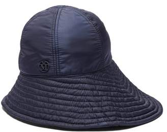 Maison Michel Julianne Bucket Hat - Womens - Navy d93454250828