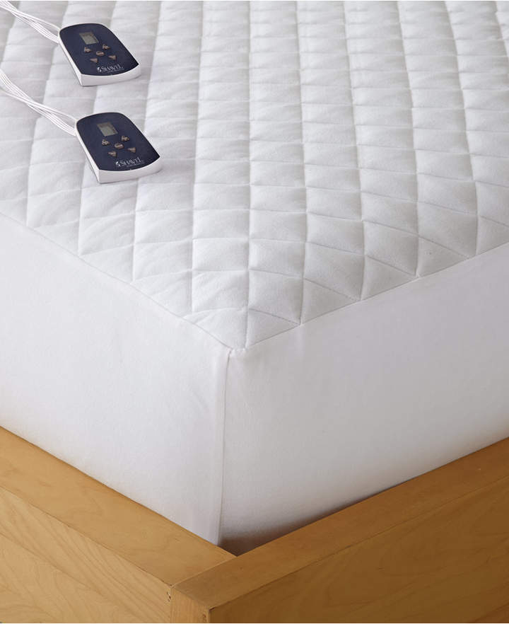 Shavel Micro Flannel Full Heated Mattress Pad
