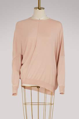 Stella McCartney Wool asymetrical sweater