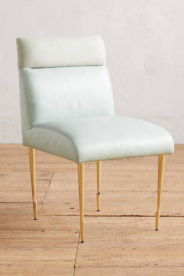AnthropologieAnthropologie Premium Leather Beene Dining Chair