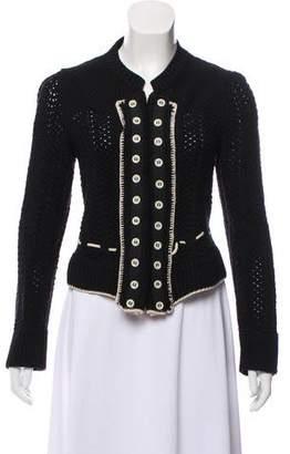 Chloé Wool Knit Blazer