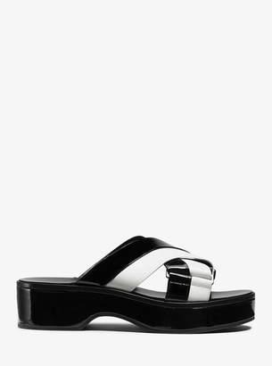 Michael Kors Margeaux Leather Sandal