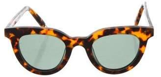 Gentle Monster Tilda Swinton x Eye Eye Tortoiseshell Sunglasses