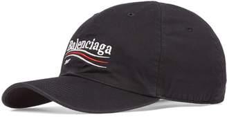 Balenciaga Embroidered Logo Vintage Cap