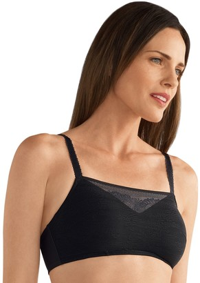 Amoena Bra: Amber Padded Lace Camisole Wire Free Bra