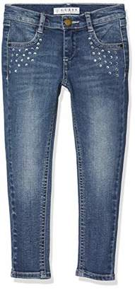 GUESS Girl's K83a02d3490 Jeans, (Nineties Light Blue Nlbp), (Size: 6)