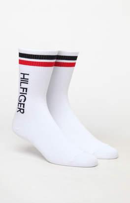 Tommy Hilfiger Logo Crew Socks 2-Pack