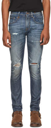 R 13 Blue Washed Jeans