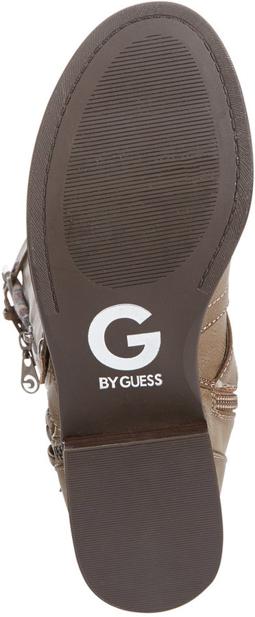 G by GUESS Women's Hertle Tall Shaft Wide Calf Riding Boots 2