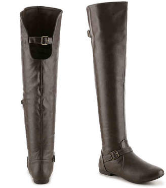 Journee Collection Loft Wide Calf Over The Knee Boot - Women's