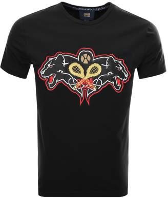 Just Cavalli Cavalli Class Panther T Shirt Black