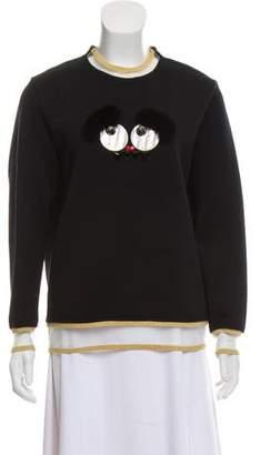 Fendi Monster Long Sleeve Sweater