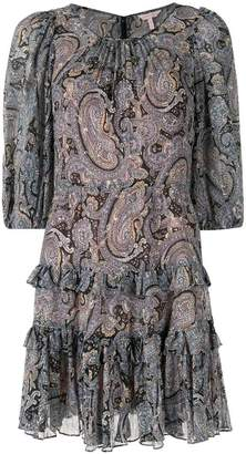 Rebecca Taylor paisley print shift dress