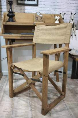 STUDY Cambrewood Canvas Chair