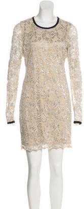 Gryphon Lace Mini Dress