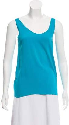 Zero Maria Cornejo Sleeveless Silk Top