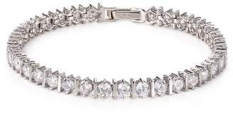 Crislu Bar Hand Round-Cut Tennis Bracelet, 10.0 ct. t.w.