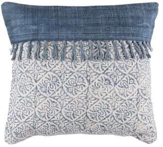 SURYA HOME Cream Lola Bohemian/Global Pillow