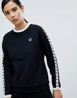 Fred Perry Taped Sweatshirt