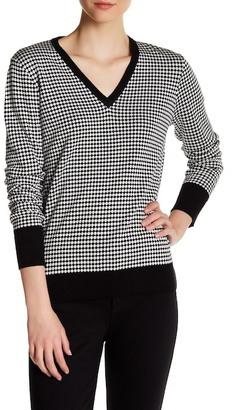 Equipment V-Neck Silk Sweater $298 thestylecure.com