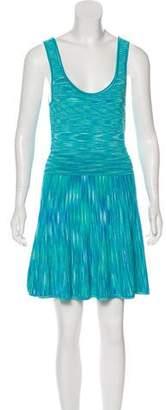 Torn By Ronny Kobo Patterned Knit Dress