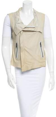 Veda Leather Vest