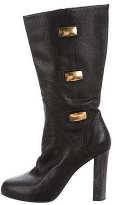 Maiyet Leather Platform Boots