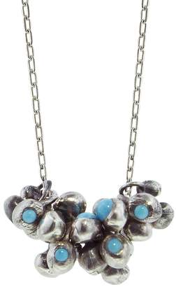 Ten Thousand Things Turqouise Stud Molten Cluster Necklace